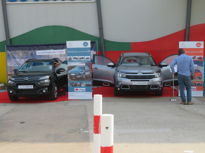 Nous sommes en exposition à EREVAN AÉROPORT jusqu'au 31 Décembre 2019. Venez contempler les SUV de Citroën de près.